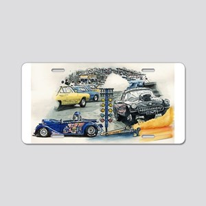Drag Race Stuff Aluminum License Plate